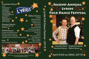 2015 Lyrids Festival DVD Cover