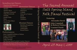 2005 Salt Spring DVD Cover