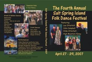 2007 Salt Spring DVD Cover