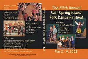 2008 Salt Spring DVD Cover