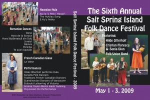 2009 Salt Spring DVD Cover