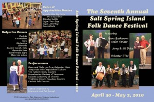 2010 Salt Spring DVD Cover