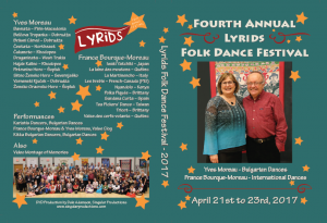 2017 Lyrids Festival DVD Cover